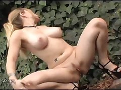 Nikki &amp_ Kylie Nude-In-Public - Together Again