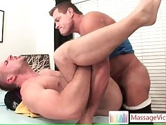 Park Wiley gets the massage of his romp 6 By MassageVictim