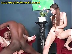 Petite Teen is Black Filled