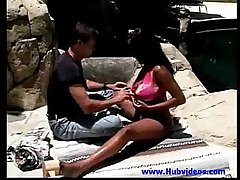 Plump babe fucked in tropical garden - Free Ebony   Movies and Clips 00