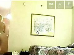 naked wife flashing in room service in hotel