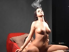Alexis Grace - Smoking Fetish at Dragginladies