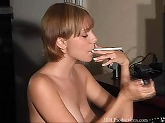 Aidan Layne  - Smoking Fetish at Dragginladies