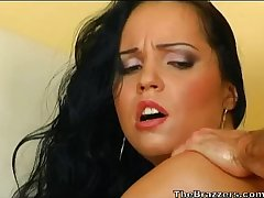 Czech Laura Lion anal oiled