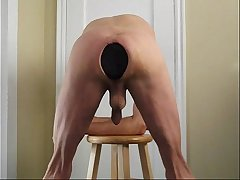 Ass Stretching Humongous Butt Plug Anal