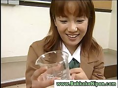 Real amateur japanese babe resuscitation cum in reality groupsex