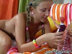 Horny teens toypanda comes to define to play