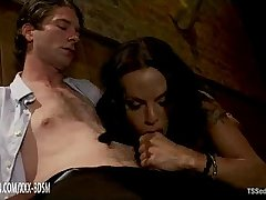 Blowjob on horny huge dick in the coffee bar