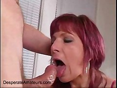 Angie first time milf